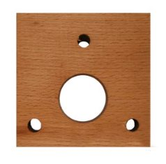 Wood Bed Auger Mounting Block
