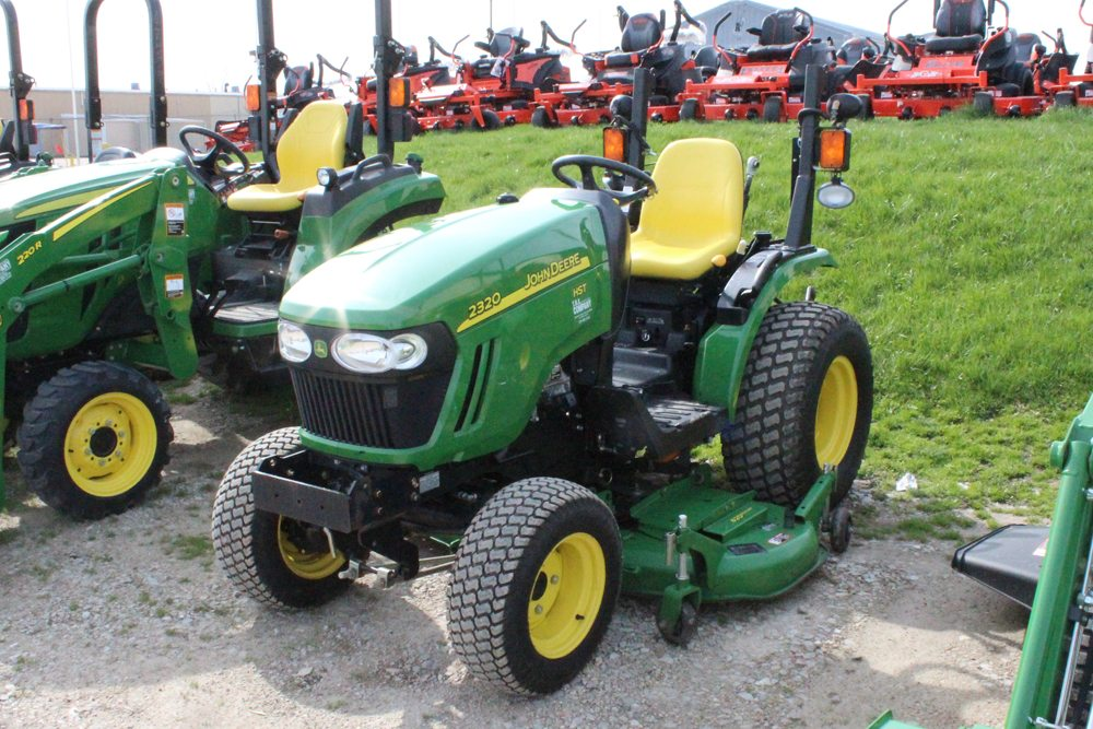 Jd 2320 Mower Adj : John deere tractor t h e company