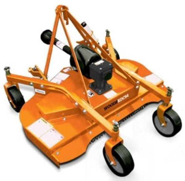 Woods RD60W Finish Mower- Orange