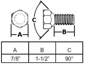 """9/16"""" Conical Hub Wheel Bolt"""