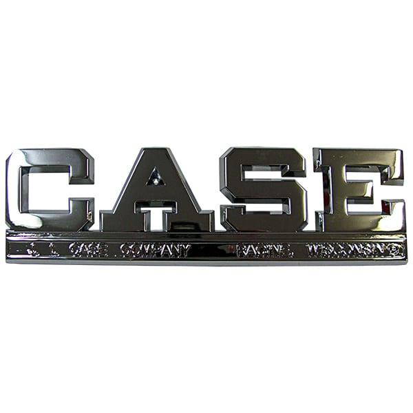 Case Chrome Side Emblem