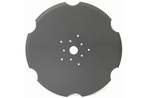 "16"" Notched Seed Disc Blade"