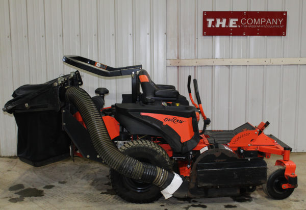 2015 Bad Boy Outlaw XP Zero Turn Mower with Bagger Attachment