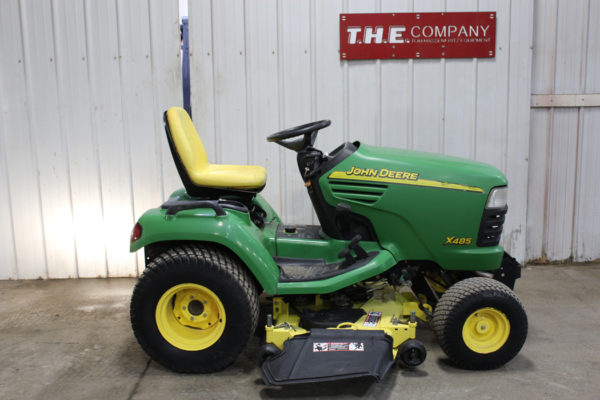 Used 2005 John Deere X485 Riding Mower for Sale