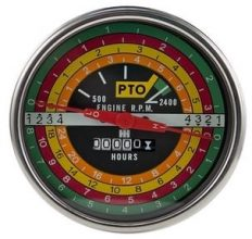 International Harvester 706 & 806 Tachometer