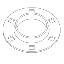Feeder Bearing Flange