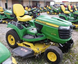 John Deere X734 Riding Mower
