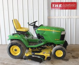 John Deere X495 Riding Mower
