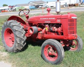 McCormick W4 Tractor