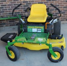 New John Deere Z355E Zero Turn Mower