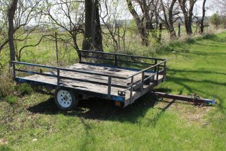 Used 6x8 Trailer