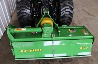 John Deere 450 Tiller