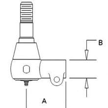 Steering Cylinder End