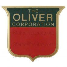 2 color brass front emblem