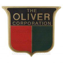 3 color brass front emblem