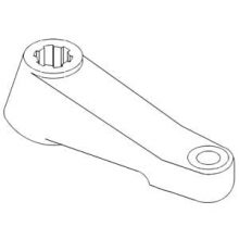 Steering Arm Left Hand Square Axle