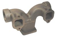 Manifold Diesel Exhaust Center Section