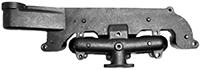 John Deere 2010 Gas Manifold w/ Vertical Exhaust