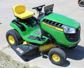 John Deere E110 Riding Lawn Tractor