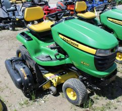 John Deere X300 Riding Mower