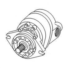 Gear Pump, Hydraulic Pump for Massey Ferguson Construction/Industrial Tractors