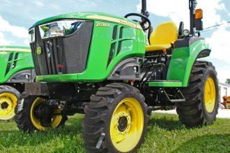 2020 John Deere 2038R Compact Utility Tractor in Southeast IA